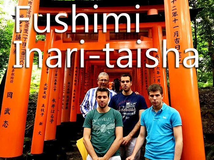 Fushimi Inari-taisha 京都観光タクシー伏見稲荷