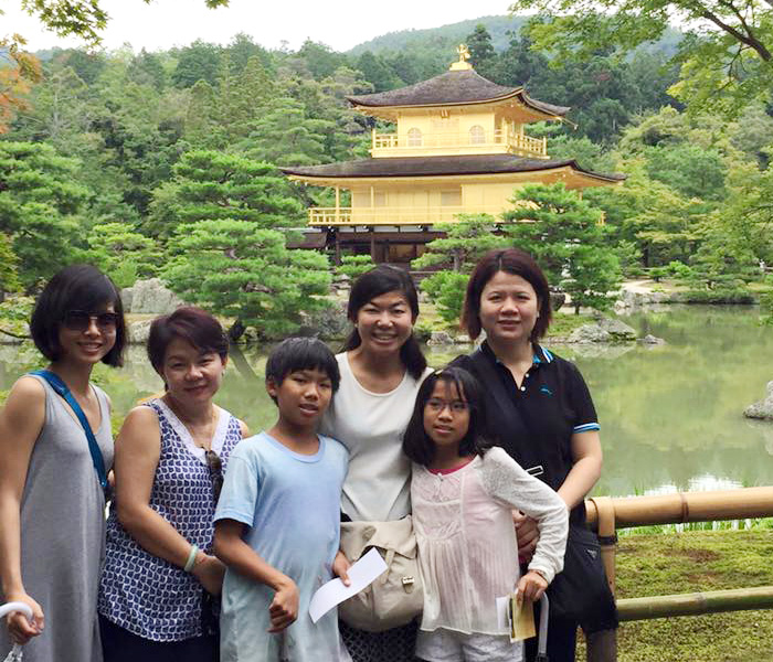 Visitor from Malaysia. kyoto japan guide