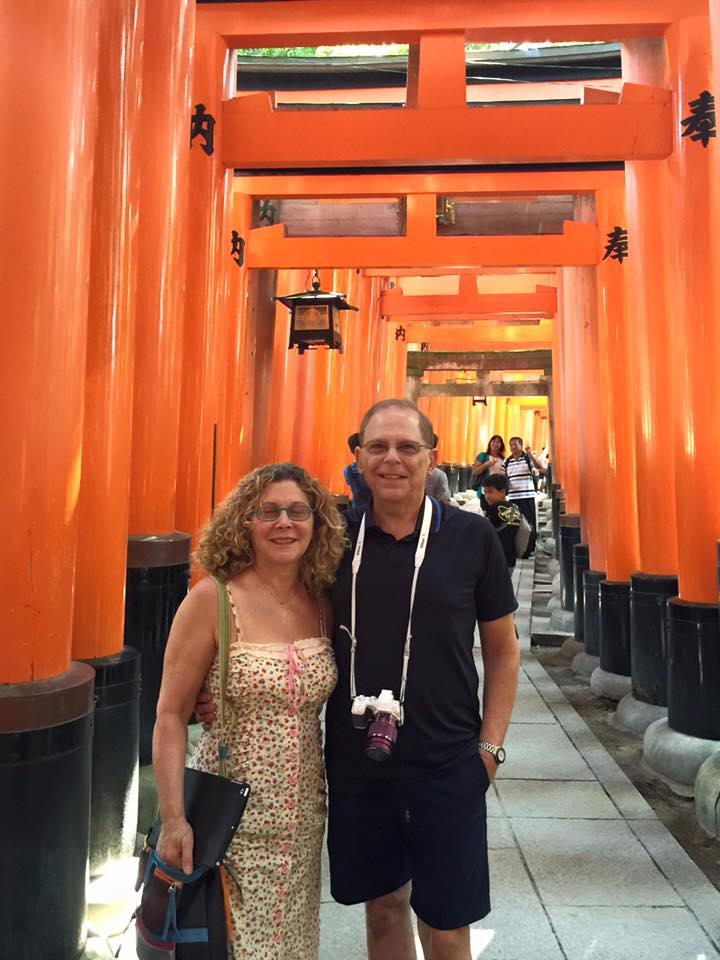Couple from New York  京都観光タクシー