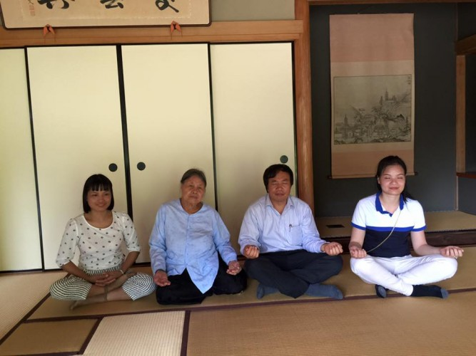 Visitor from Vietnam  kyoto guide tour
