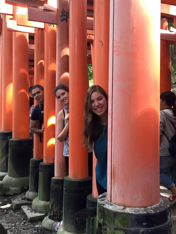 Family from Israel kyoto guide