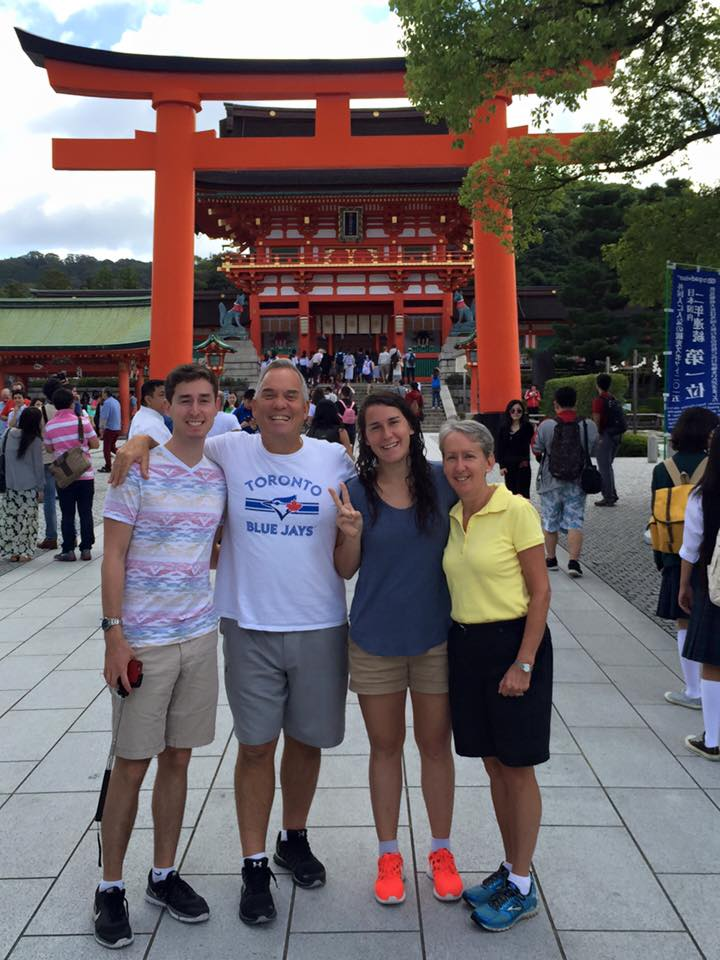 Family from Toronto 京都観光タクシー