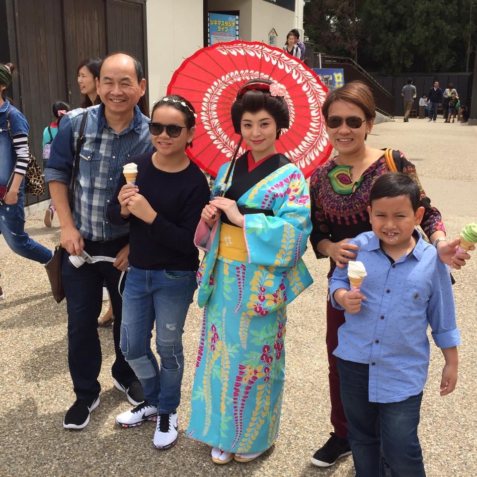 大阪から京都へ観光